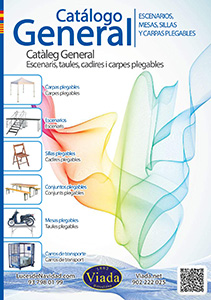 Catálogo de carpas, mesas y sillas plegables 2014